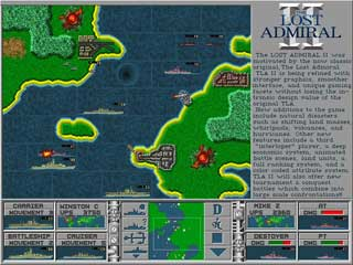Lost Admiral Two features many new twists in a world war 2 strategy game based on the original Lost Admiral.