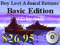 Click here to purchase Lost Admiral Returns Basic (on CD mailed to you)  now!